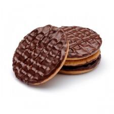 Biscuits nappés de chocolat (sachet de 4 biscuits)