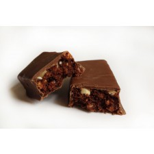 High protein Chocolate Flavoured Crunch Bar with Almond Pistachio