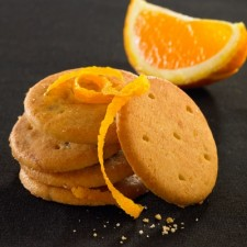 Orange zest biscuits (Pack of 5)
