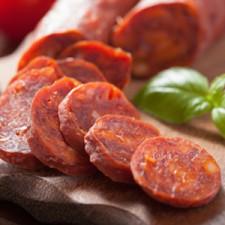 Chorizo de jambon sans Gluten